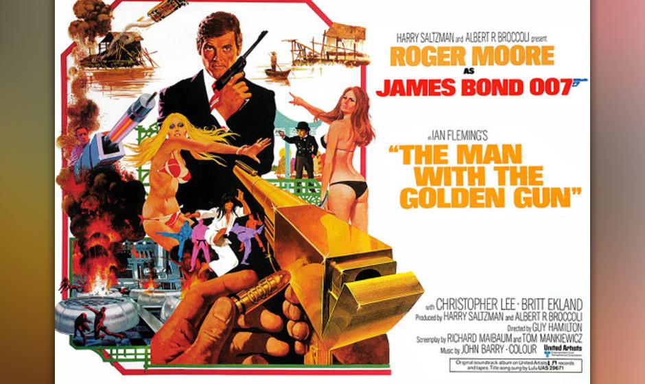 14. Lulu: 'The Man With The Golden Gun'. Der einzige schlechte James-Bond-Song von John Barry. Das Lied ist zu hektisch. Trom