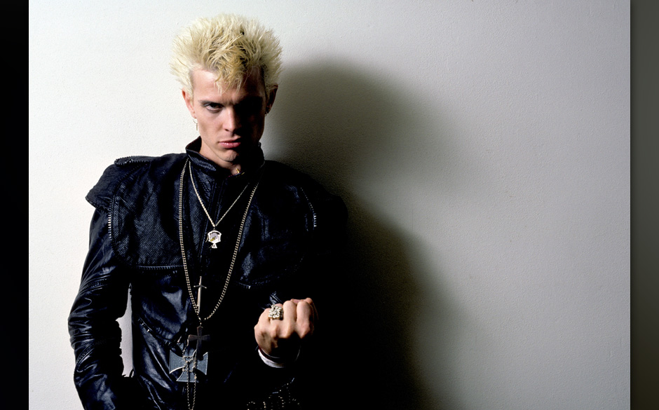UNITED STATES - JANUARY 01:  Photo of Billy IDOL  (Photo by Richard E. Aaron/Redferns)