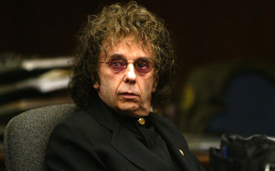 ALHAMBRA, CA - FEBRUARY 17:  Music producer Phil Spector attends an evidentiary hearing in Alhambra Municipal Court February