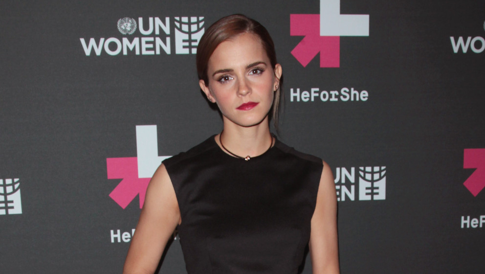 NEW YORK, NY - SEPTEMBER 20:  Actress Emma Watson attends the UN Women's 'HeForShe' VIP After Party at The Peninsula Hotel on