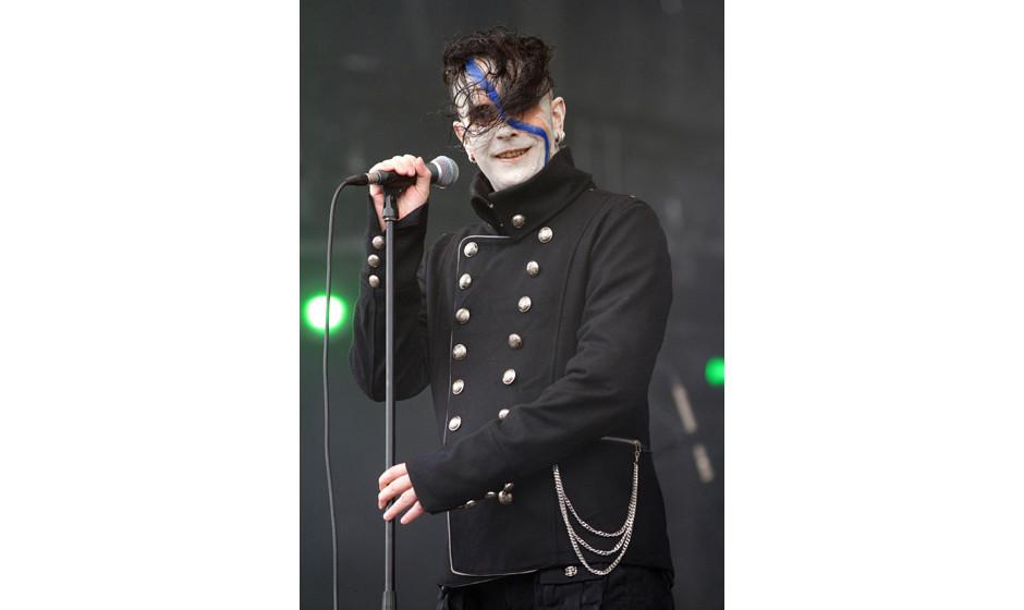 Project Pitchfork - die deutsche Synth-Rock-Band aus Hamburg live beim MÕera Luna Festival, Alternative-Musik-Gothik und Sch