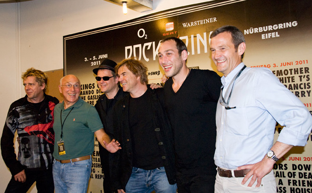 Die Toten Hosen bei Rock am Ring 2011