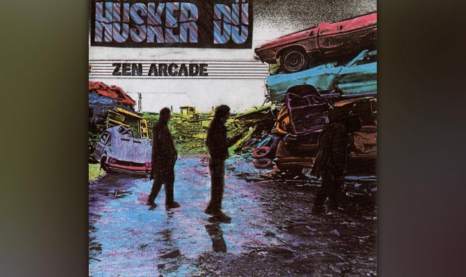 """15. Hüsker Dü – """"Zen Arcade"""" (SST, 1984) Bisher hatten sie sich vor allem auf Krach verstanden und auf Provokationen"""