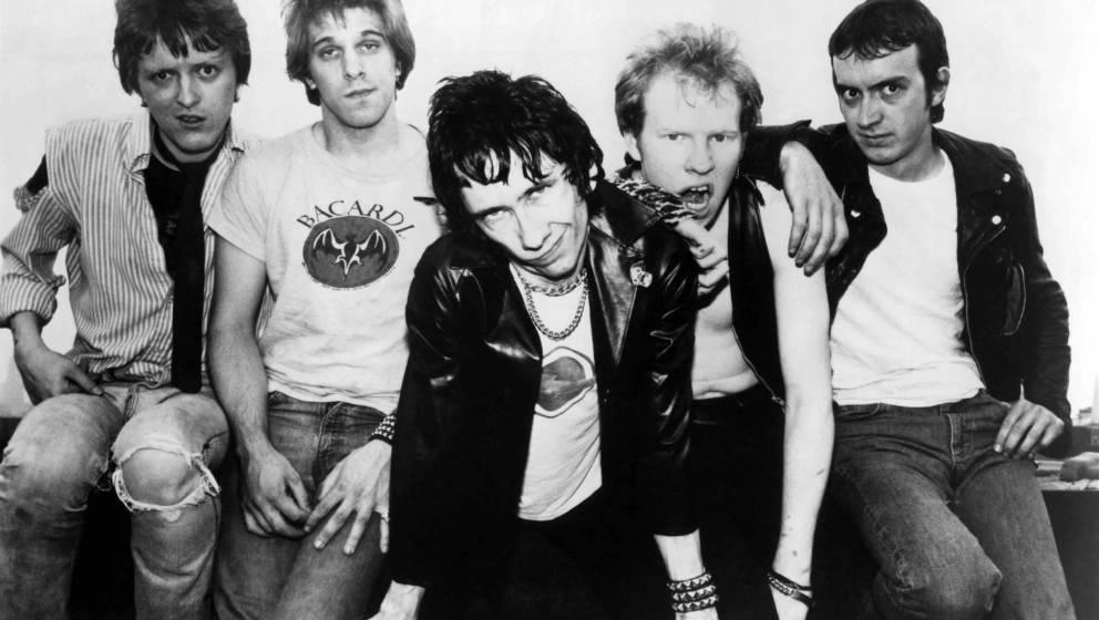 UNSPECIFIED - JANUARY 01:  (AUSTRALIA OUT) Photo of DEAD BOYS; L-R Jimmy Zero, johnny Blitz, Stiv Bators, Cheetah Chrome, Jef