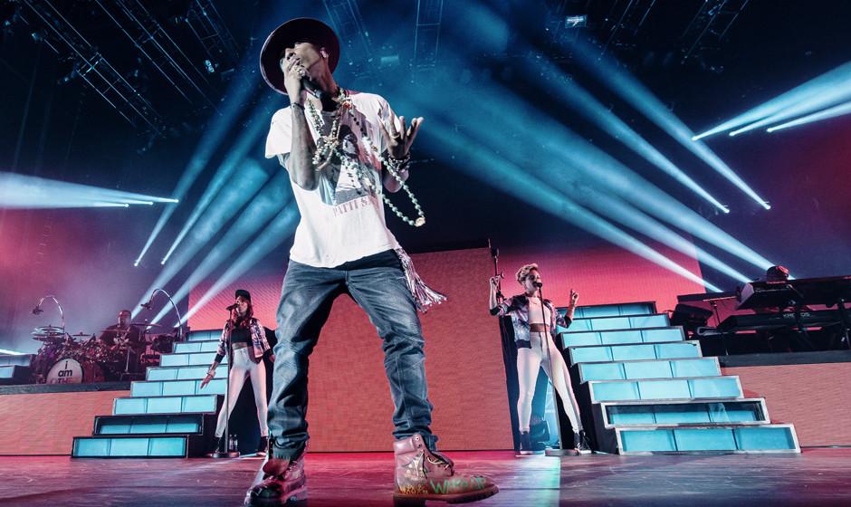 Pharrell Williams könnte in diesem Jahr seinen Titel für 'Record Of The Year' verteidigen. Im letzten Jahr gewann 'Get Luck