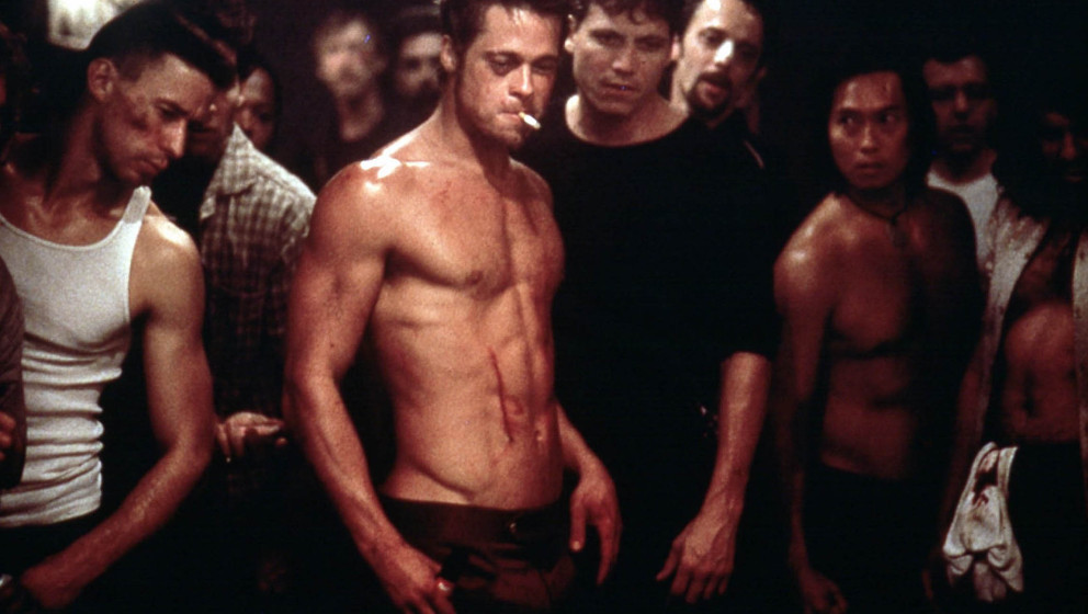 FIGHT CLUB [US / GERMANY 1999]  BRAD PITT FIGHT CLUB [GER / US 1999]  BRAD PITT     Date: 1999 (Mary Evans Picture Library) K