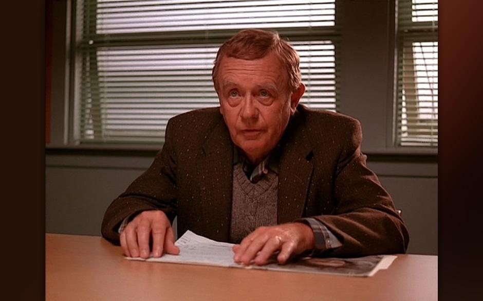 Doc Hayward (Warren Frost). Mustervater von Donna und moralische Instanz im 'Twin Peaks'-Kosmos. Hat eine starke Bindung zu L