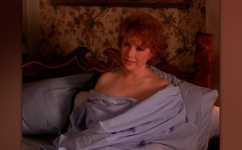 Catherine Martell (Piper Laurie). Als Twin Peaks startete war sie eine der berühmteren Darstellerinnen. Immerhin 3 Oscar-Nom