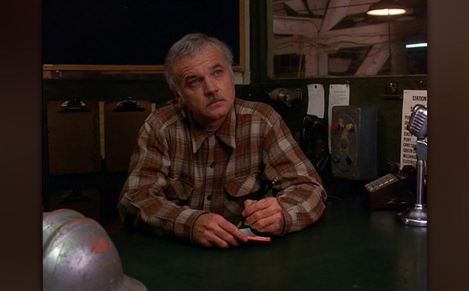 Pete Martell (Jack Nance). Nance war Lynch-Intimus und seit 'Eraserhead' bei jedem Film dabei. Als liebenswürdiger Pete war