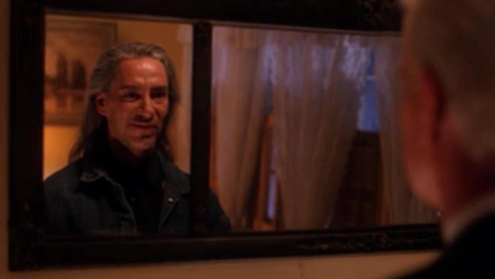 BOB (Frank Silva). Kein Gesicht der Fernsehgeschichte hat sich in das Gedächtnis der Zuschauer so eingebrannt wie das von Fr