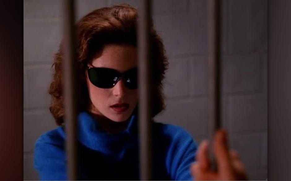 Donna Hayward (Lara Flynn Boyle). Lauras beste Freundin war eine der Hauptfiguren der Serie, wo sie von Lara Flynn Boyle darg