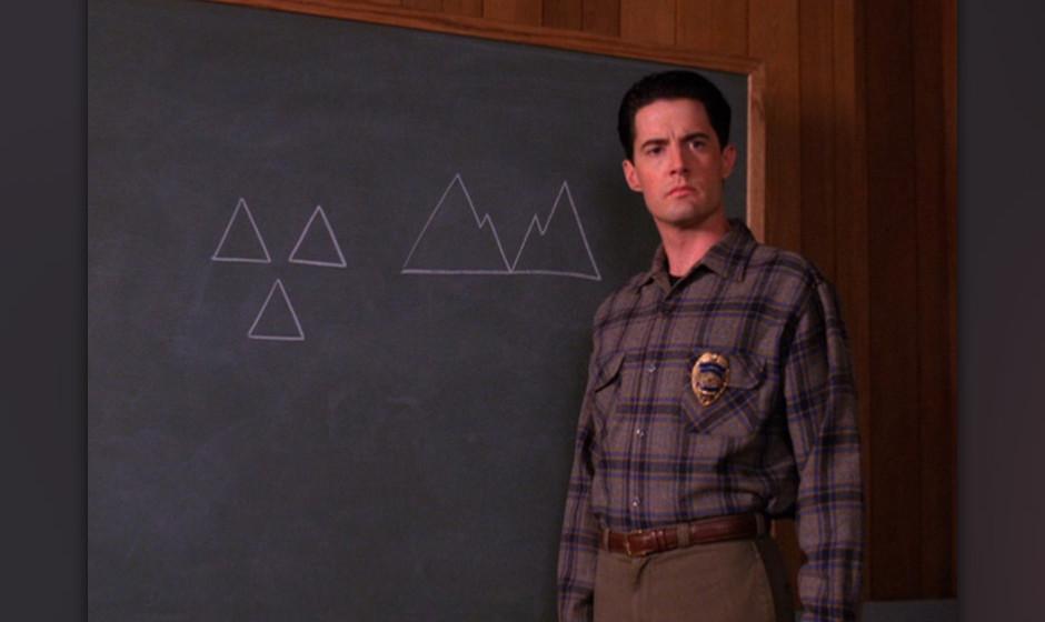 Special Agent Dale Cooper (Kyle McLachlan). War nicht nur Hauptfigur, sondern auch tragische Hauptfigur des wahrscheinlich be
