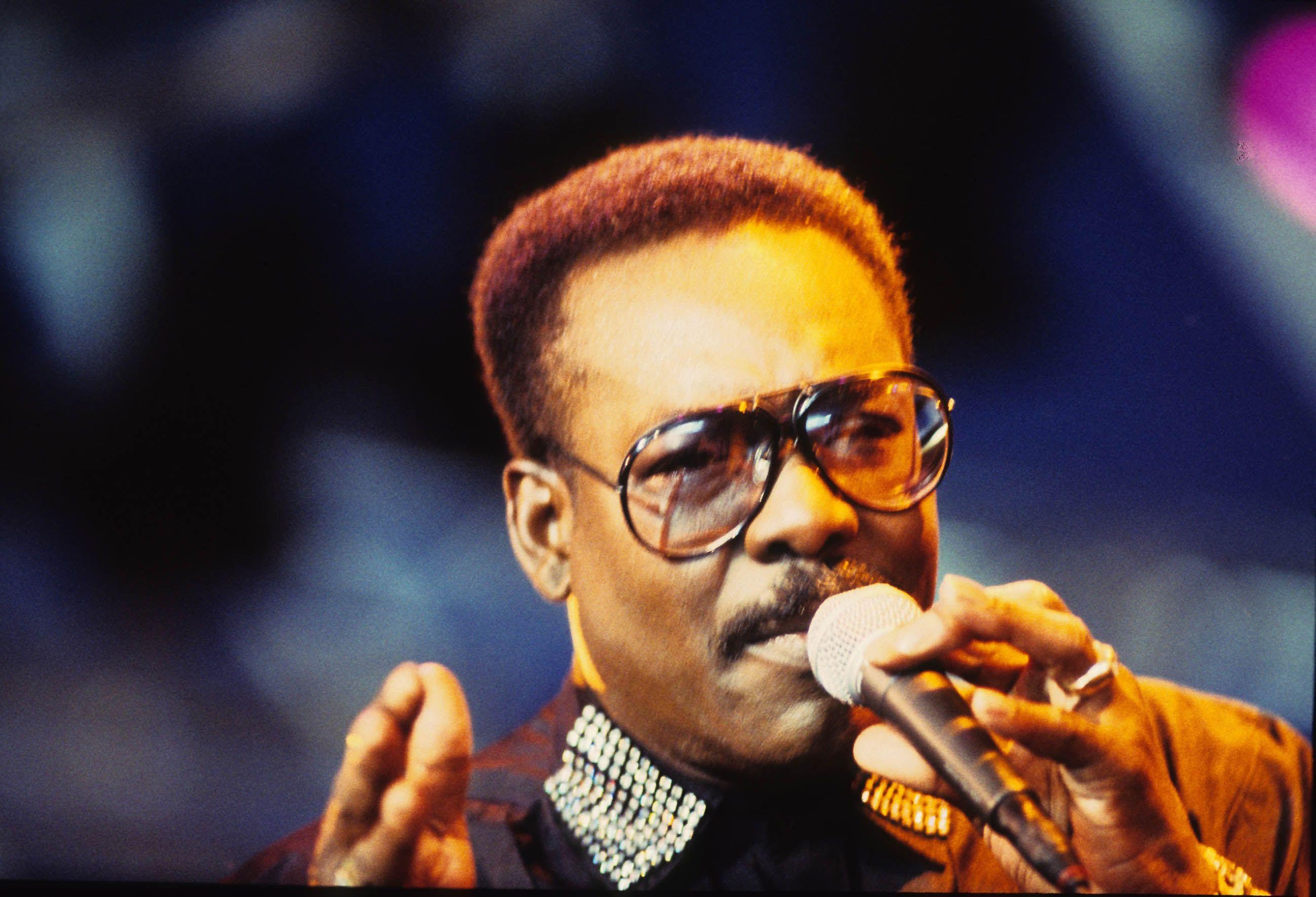 Wilson Pickett live 90er Jahre
