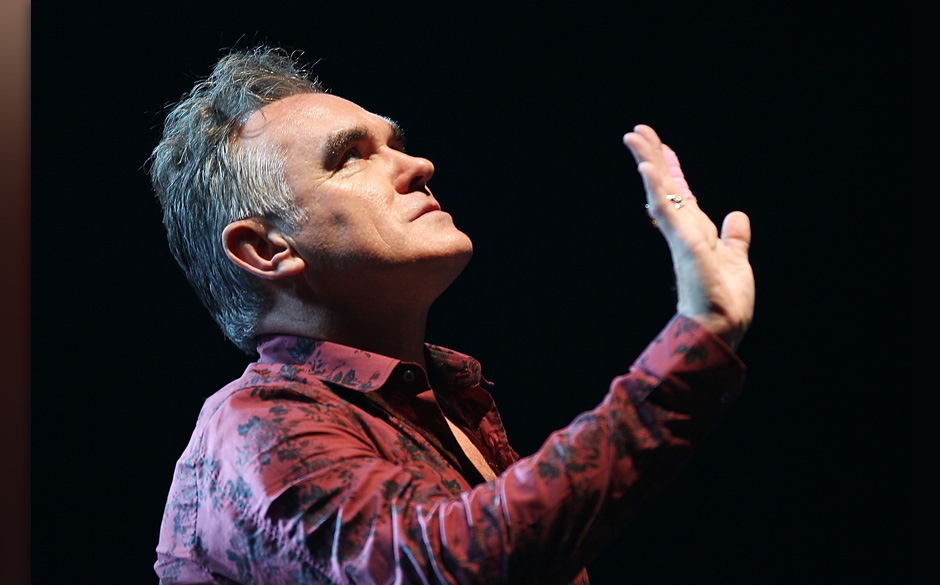 SAN DIEGO, CA - MAY 22:  Morrissey performs at Valley View Casino Center on May 22, 2012 in San Diego, California.  (Photo by