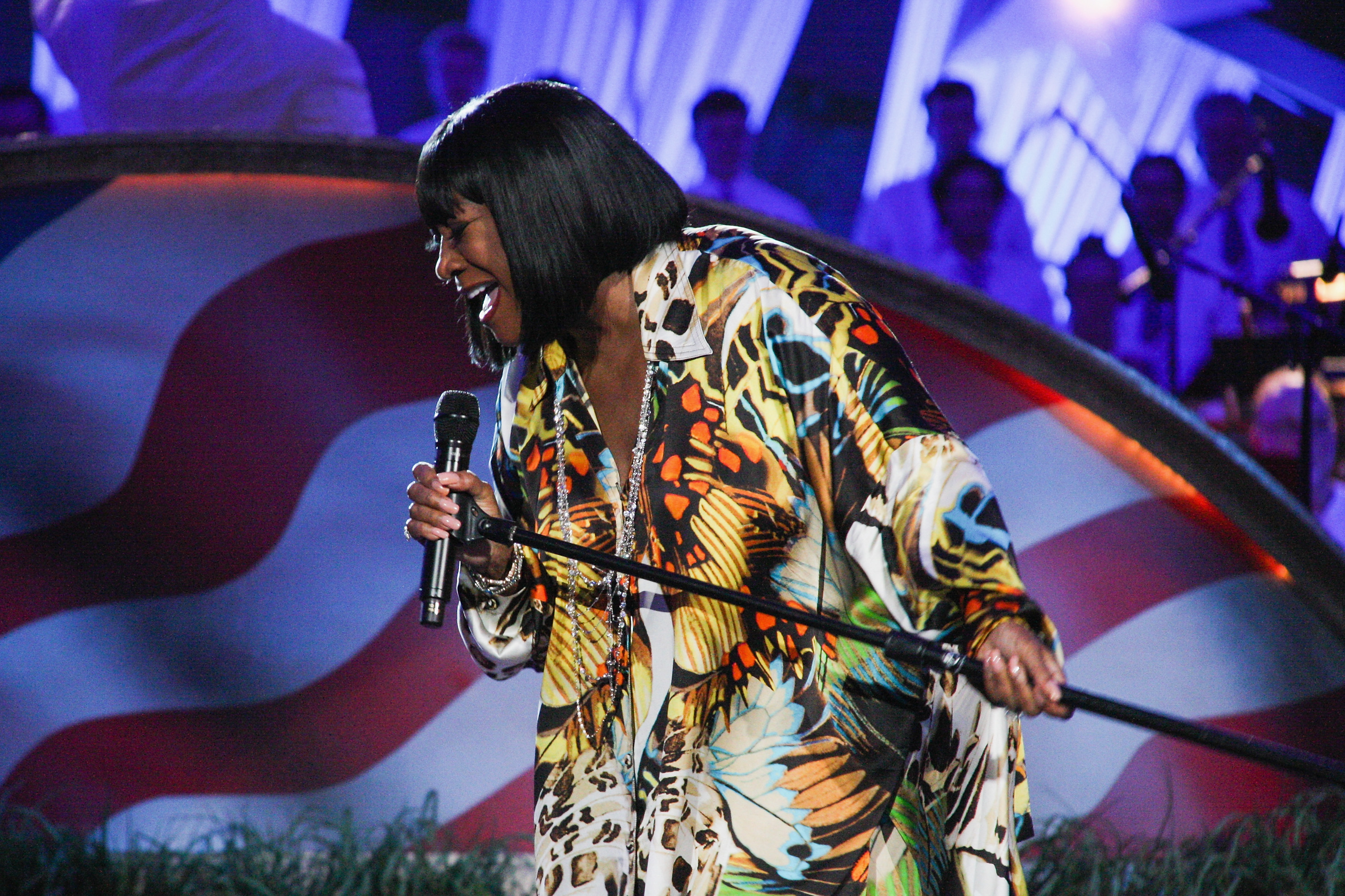 WASHINGTON, DC - JULY 03:  Patti LaBelle performs during PBS's '2014 A Capitol Fourth' Concert Rehearsal at the U.S. Capitol