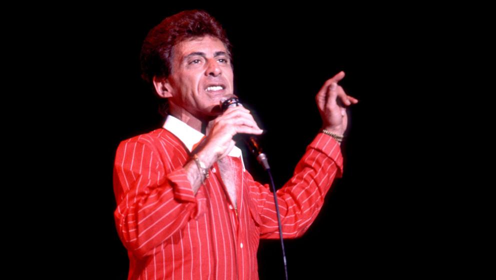 """""""Frankie Valli wurde zu einem stimmlichen Meilenstein unserer Generation"""", sagte Barry Gibb von den Bee Gees. """"Er schuf"""