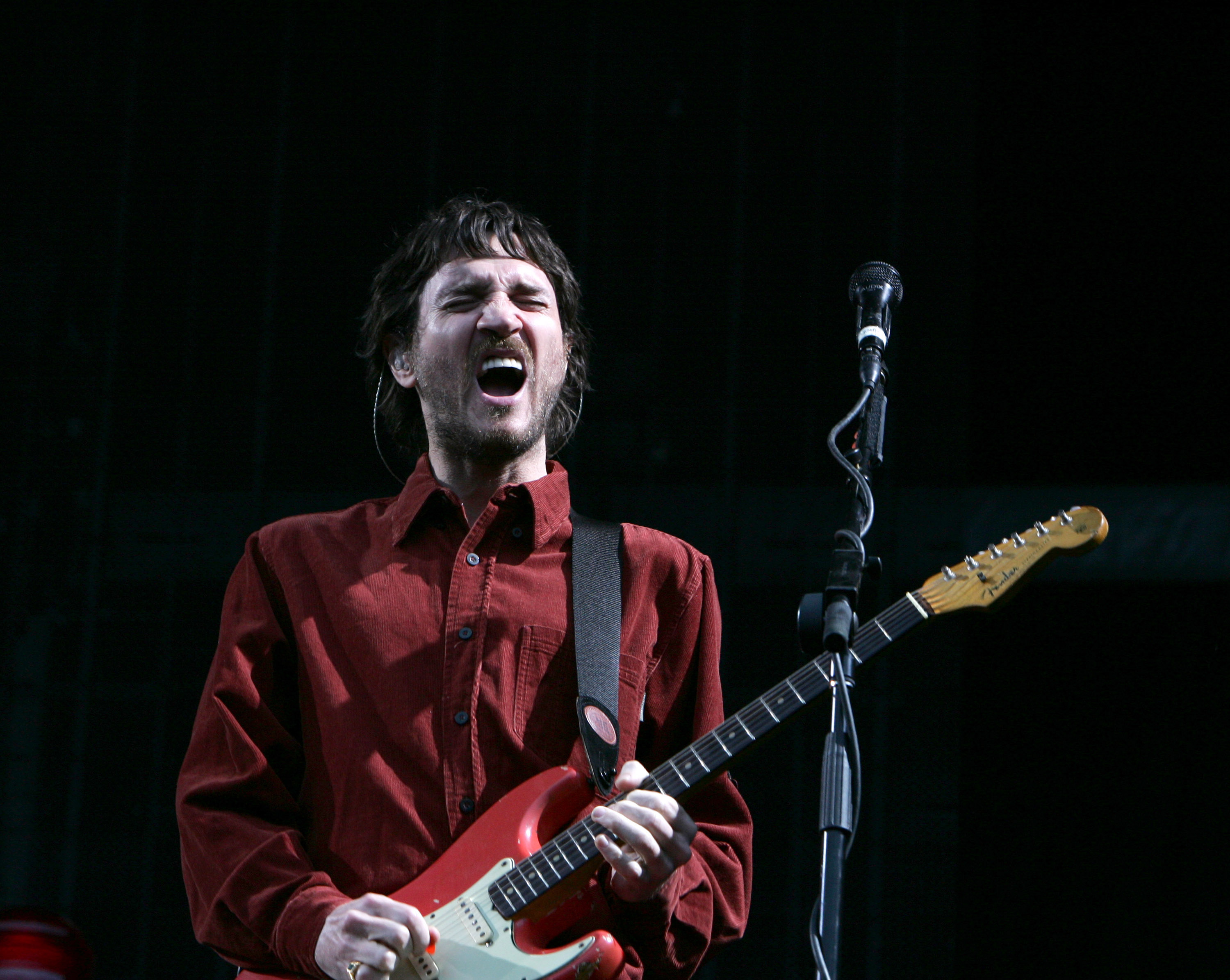 John Frusciante of Red Hot Chili Peppers performs live at Goffert Park on June 24, 2007 in Nijmegen, Netherlands.