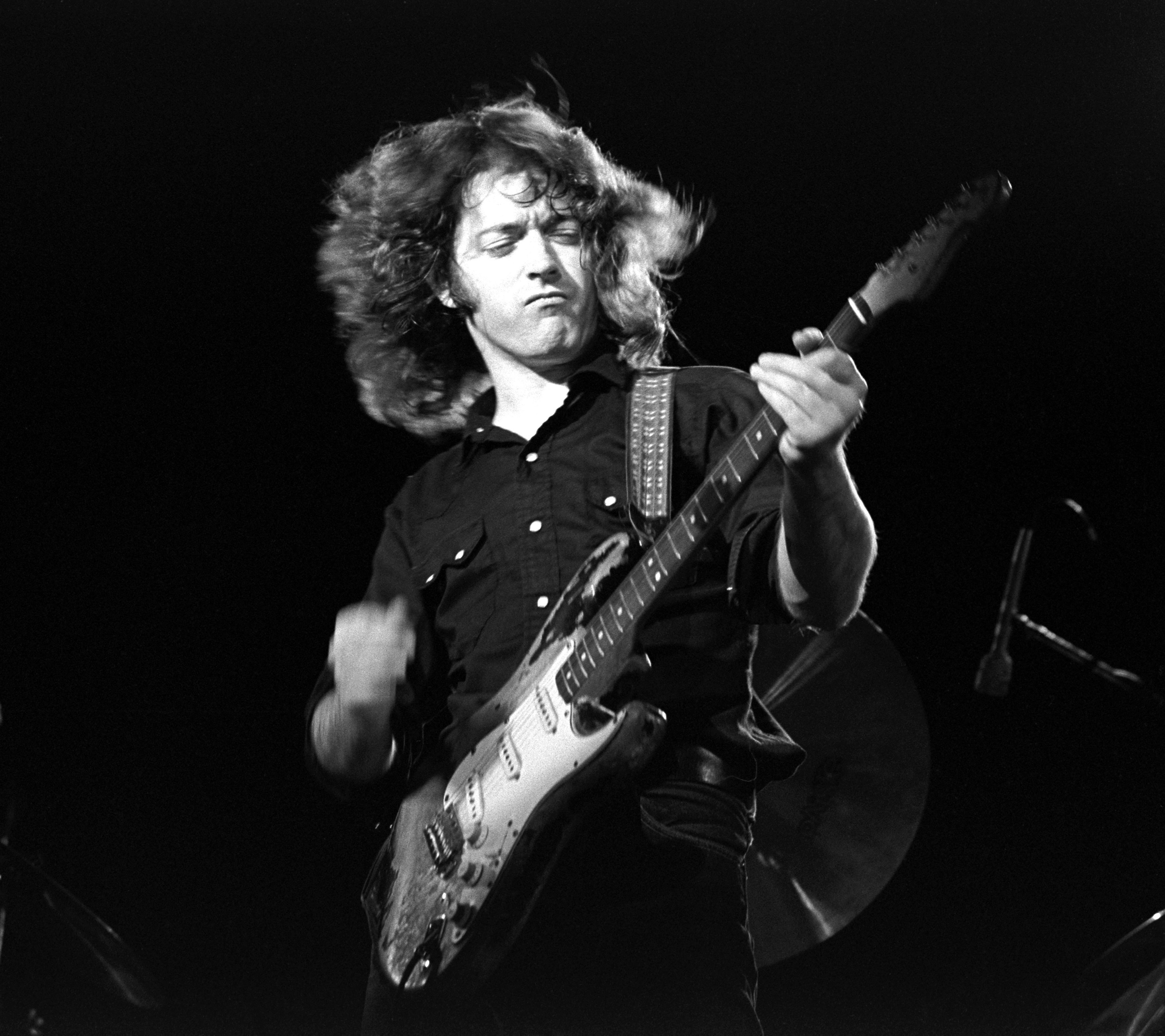 Rory Gallagher at The Starwood, Hollywood, CA 1974; Various Locations; Mark Sullivan 70's Rock Archive  (Photo by Mark Sulliv