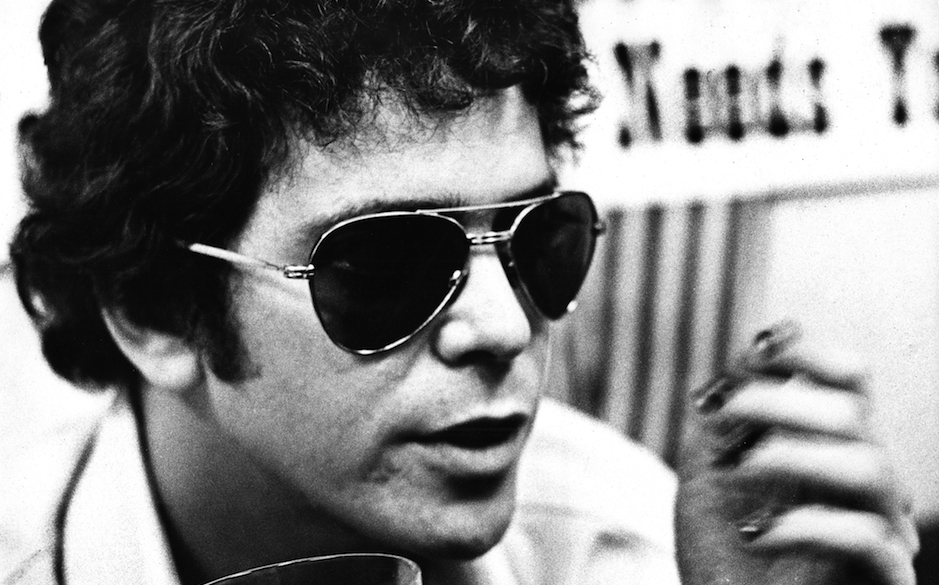 AMSTERDAM, NETHERLANDS: Lou Reed posed in Amsterdam, Netherlands in March 1975 (Photo by Gijsbert Hanekroot/Redferns)