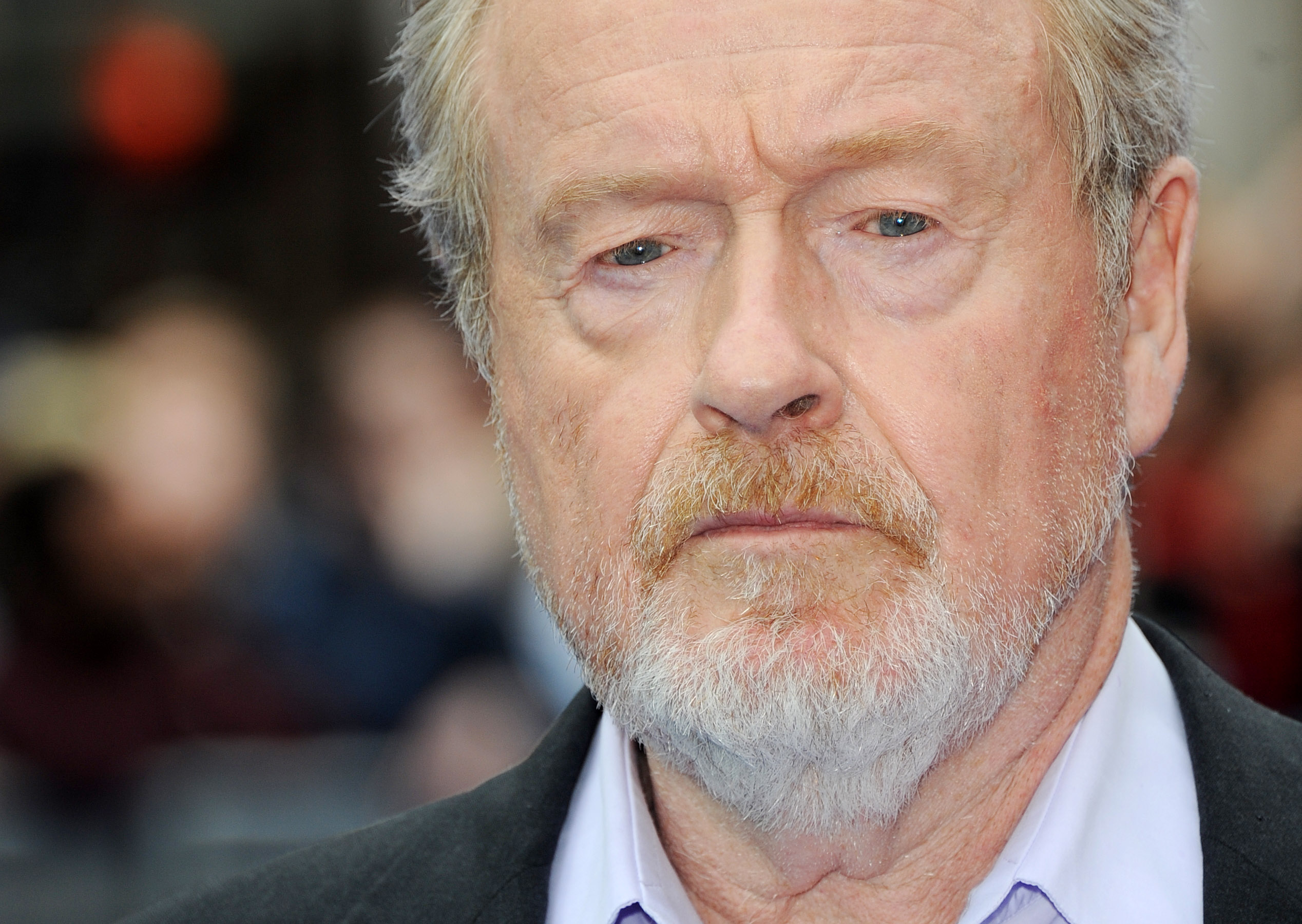 LONDON, UNITED KINGDOM - MAY 31: Director Sir Ridley Scott attends the world premiere of Prometheus at Empire Leicester Squar