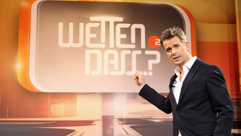 COLOGNE, GERMANY - SEPTEMBER 24:  Markus Lanz attends the 'Wetten dass...?' Press Conference on September 24, 2012 in Cologne