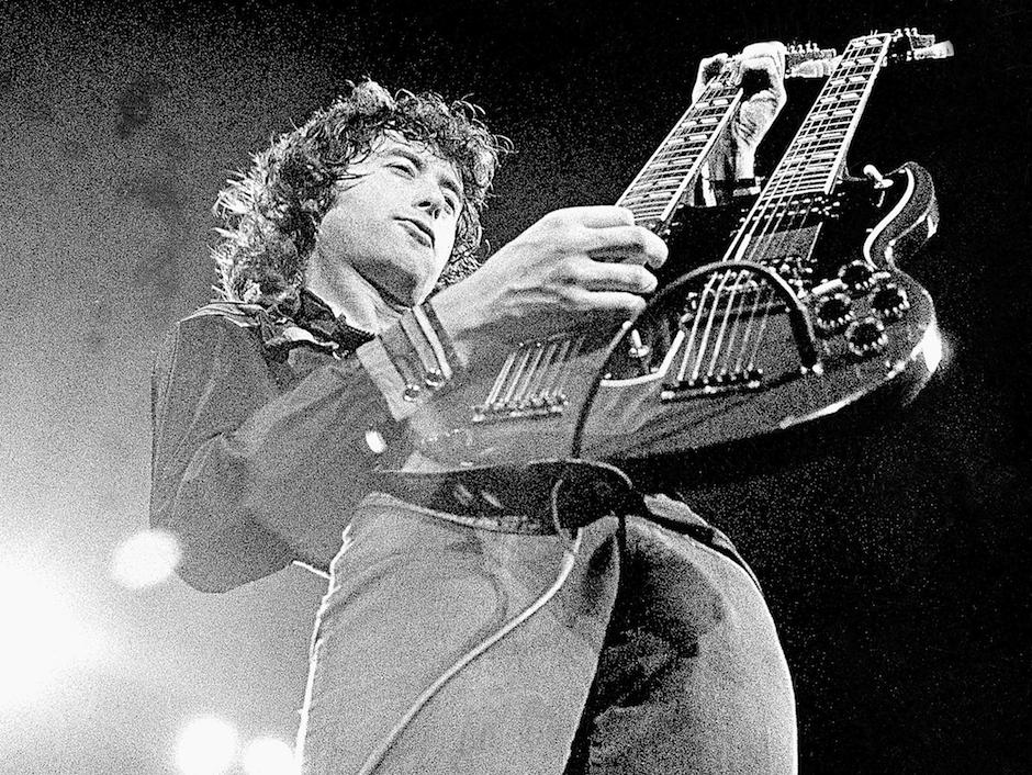 "Jimmy Page spielt ""Stairway To Heaven"""