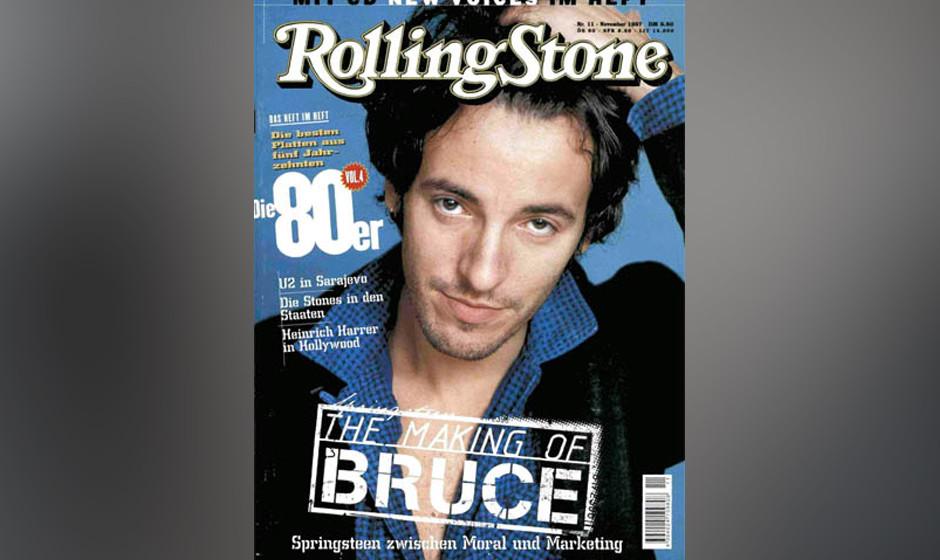 4. Bruce Springsteen (8x)