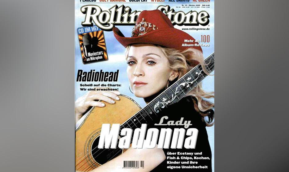 9. Madonna (5x)