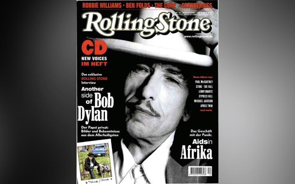 4. Bob Dylan (8x)