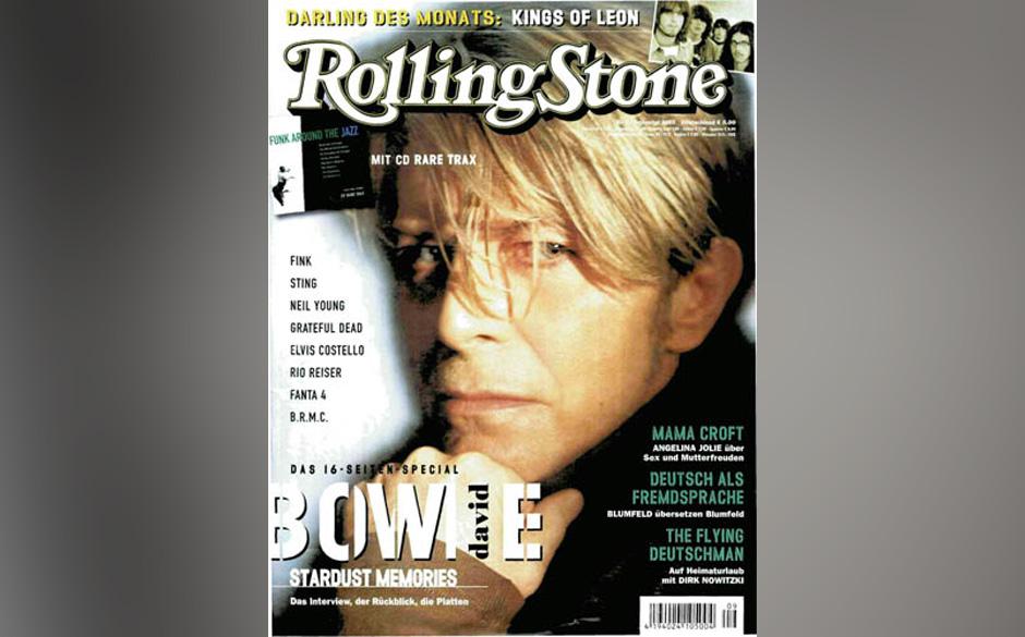 9. David Bowie (5x)