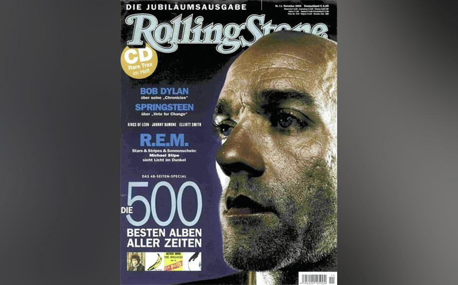 9. Michael Stipe/R.E.M. (5x)