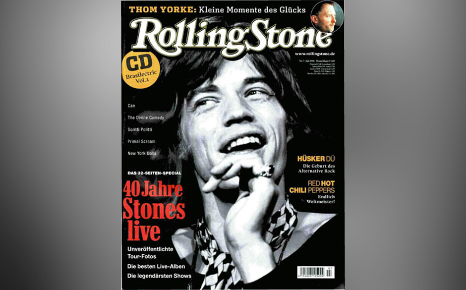 1. The Rolling Stones/Mick Jagger/Keith Richards/Charlie Watts (13x)