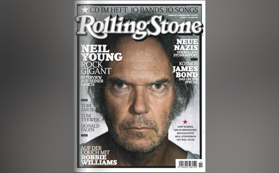 9. Neil Young (5x)
