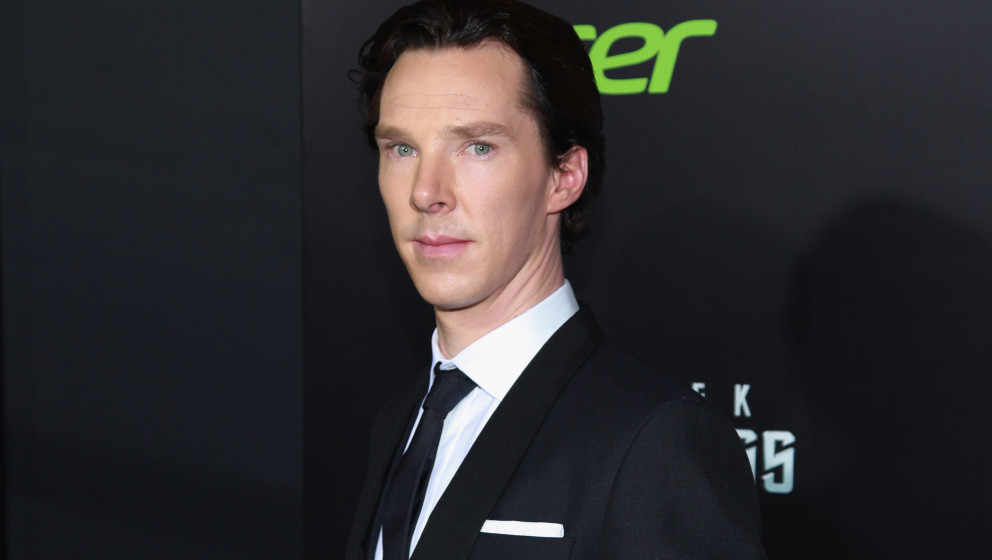 Der Schauspieler Benedict Cumberbatch beim 'Star Trek Into Darkness'-Screening.