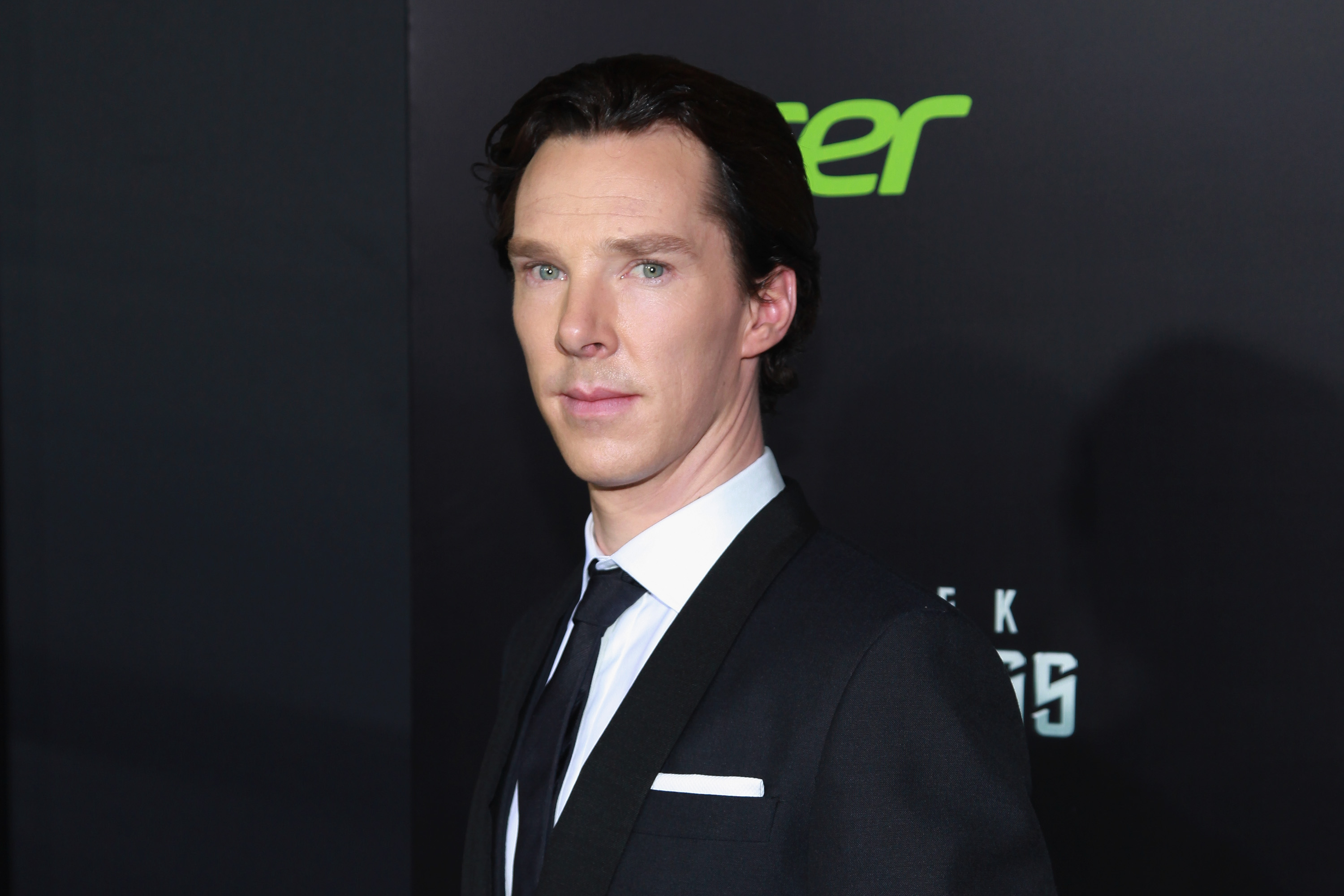 NEW YORK, NY - MAY 09:  Actor Benedict Cumberbatch attends the 'Star Trek Into Darkness' screening at AMC Loews Lincoln Squar