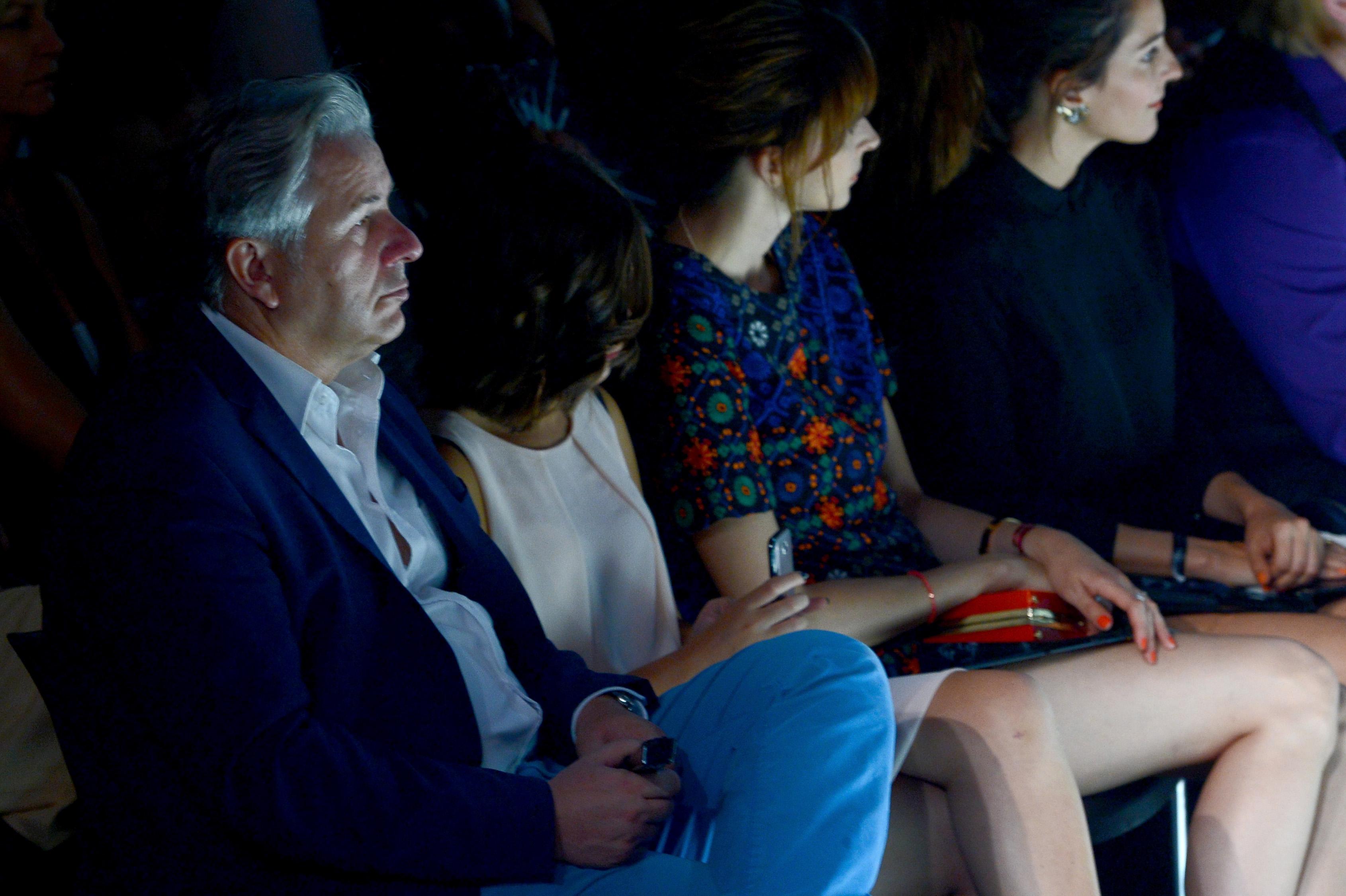 BERLIN, GERMANY - JULY 11:  Klaus Wowereit enjoys the Michalsky Style Night at Tempodrom on July 11, 2014 in Berlin, Germany.