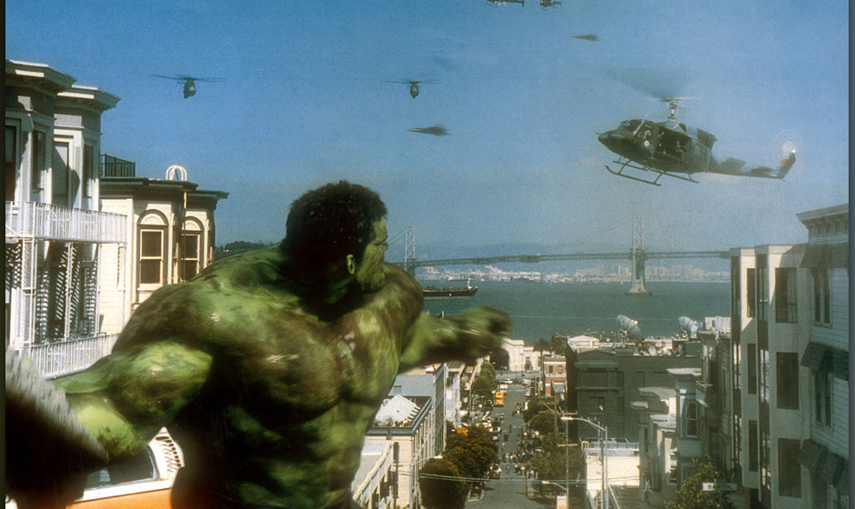 HULK [US 2003]  ERIC BANA as Bruce Banner     Date: 2003 (Mary Evans Picture Library) Keine Weitergabe an Drittverwerter., Nu