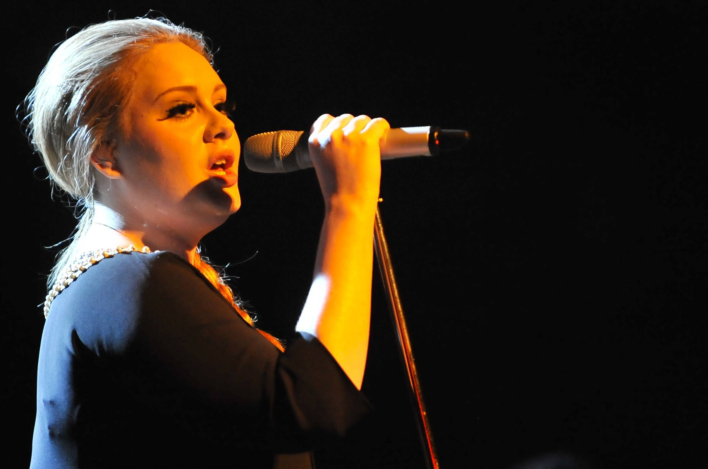 Milan 30/03/2011 Adele in concert at Alcatraz of Milan.  FOTO:PRANDONI FRANCESCO/INFOPHOTO
