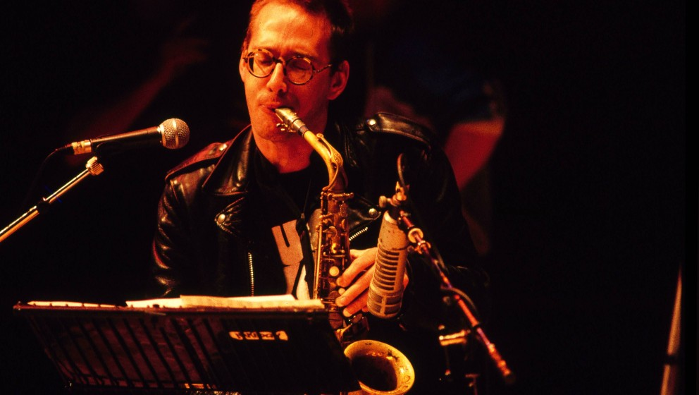 UNITED KINGDOM - JANUARY 01:  Photo of John ZORN  (Photo by Tim Hall/Redferns)