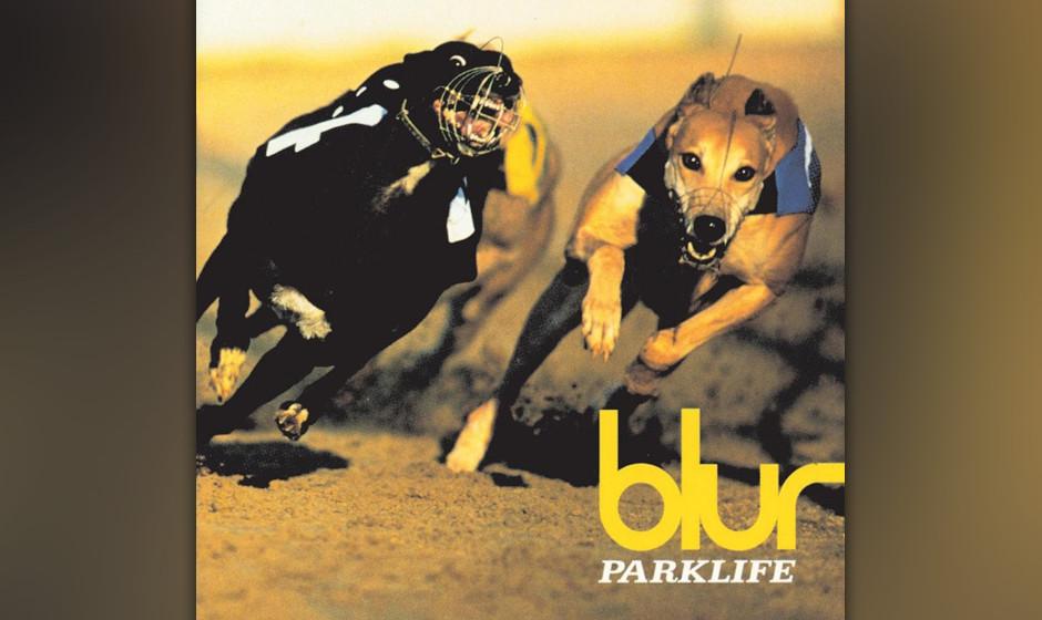 'Parklife' von Blur zählt nicht nur zu einem der besten Werke des Britpop, auch das Covermotiv von einem Windhundrennen war