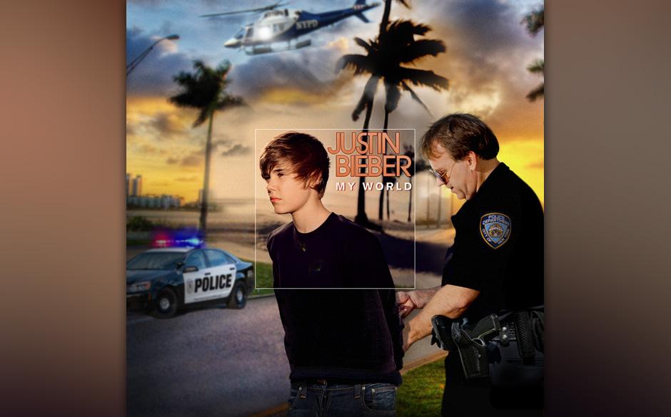 ...zeigt das komplette Bild eine völlig andere Situation, in der Justin bei seiner nächsten Gräueltat ertappt wurde. Ob er