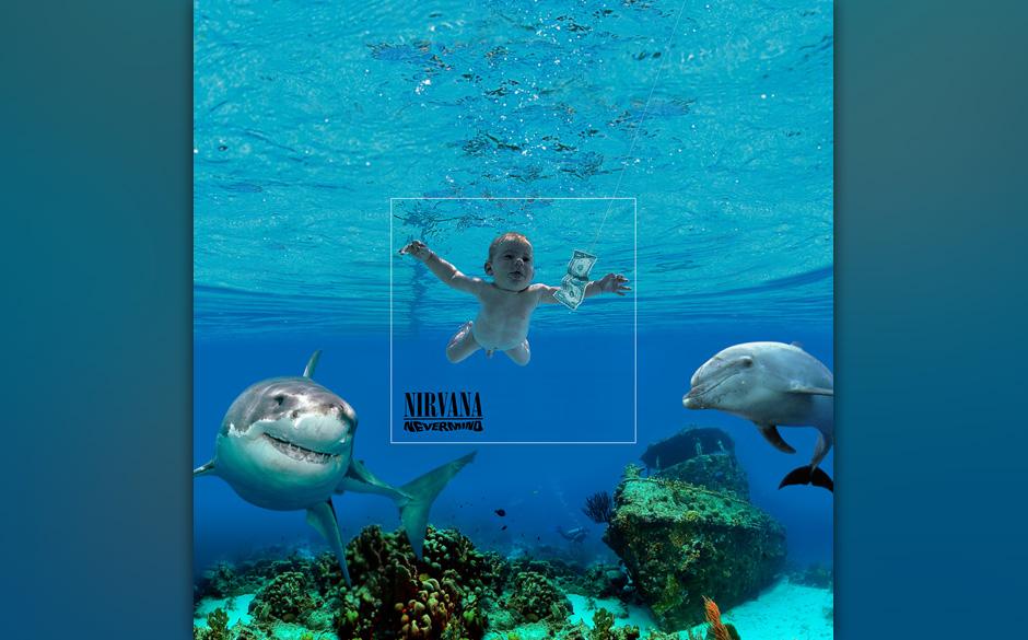 ...hier sieht man eindeutig, dass sich das Baby in bester Tiefseegesellschaft befindet. Der Hai freute sich wahrscheinlich an