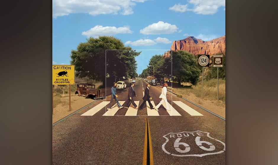 Wie bekannt die Beatles anno dazumal wirklich waren, kann man hier hervorragend sehen. Wahrscheinlich wurde der Zebrastreifen