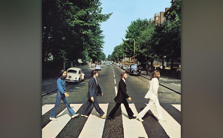 'Abbey Road' ist das einzige Album der Beatles, auf dem der Bandname nicht auf dem Cover zu lesen ist. Der Art Director Kosh