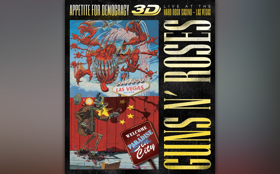 Guns 'N Roses: Appetite For Democracy: Live (Limited BluRay+2CD-Boxset)