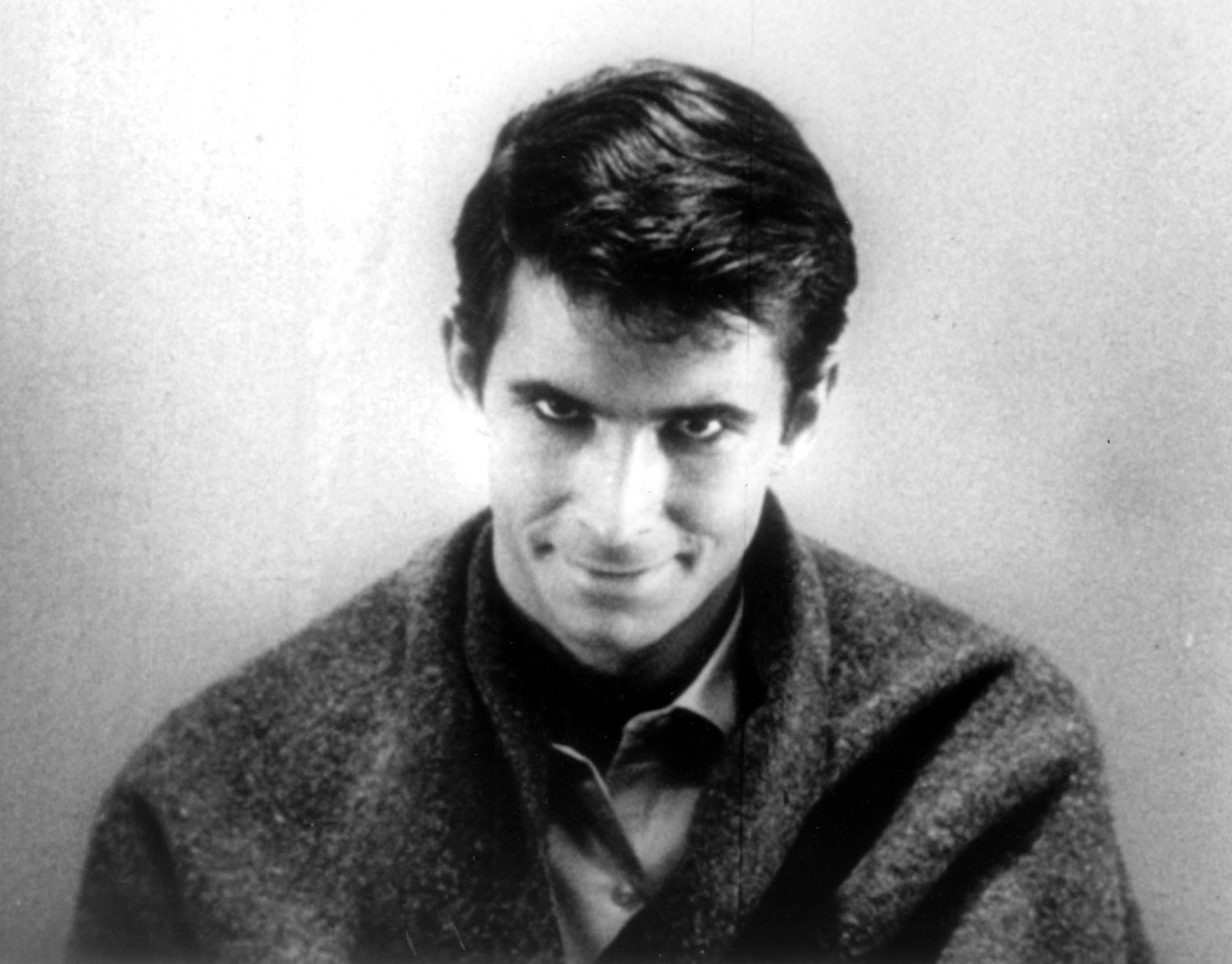 PSYCHO [US 1960] Directed by Alfred Hitchcock   ANTHONY PERKINS as Norman Bates PSYCHO [US 1960]  Directed by Alfred Hitchcoc