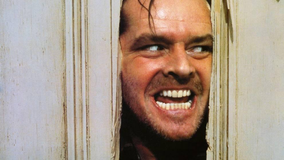 Shining (The Shining, USA 1980, Regie: Stanley Kubrick) Jack Nicholson  Mann manisch, wahnsinnig, Wahnsinn, Amok laufen, irre