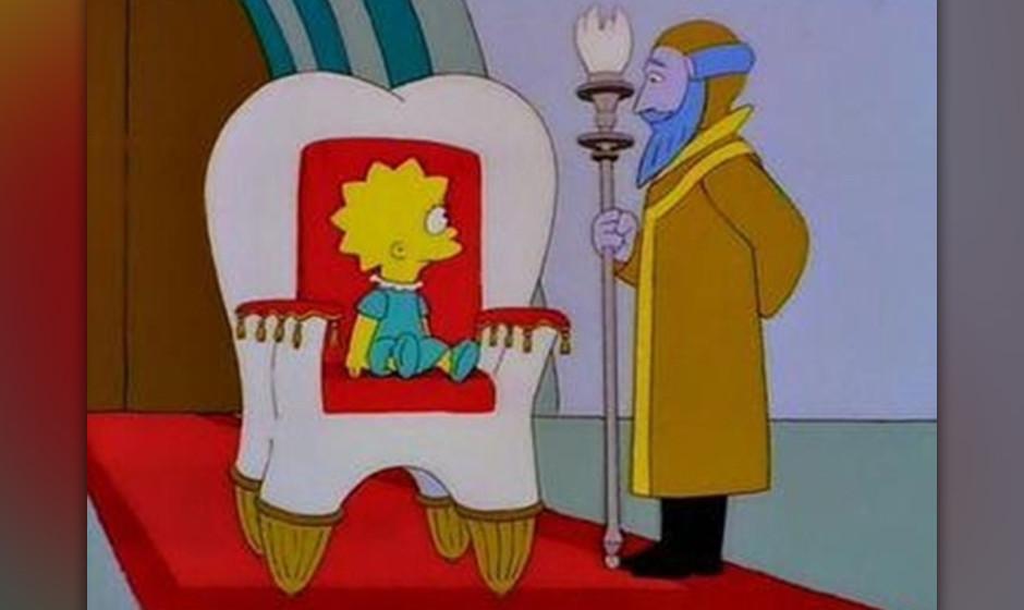 Lisa entdeckt, dass sie mit einem Experiment ein kleines Universum erschaffen hat - bis sie selbst dort hineingesogen und von