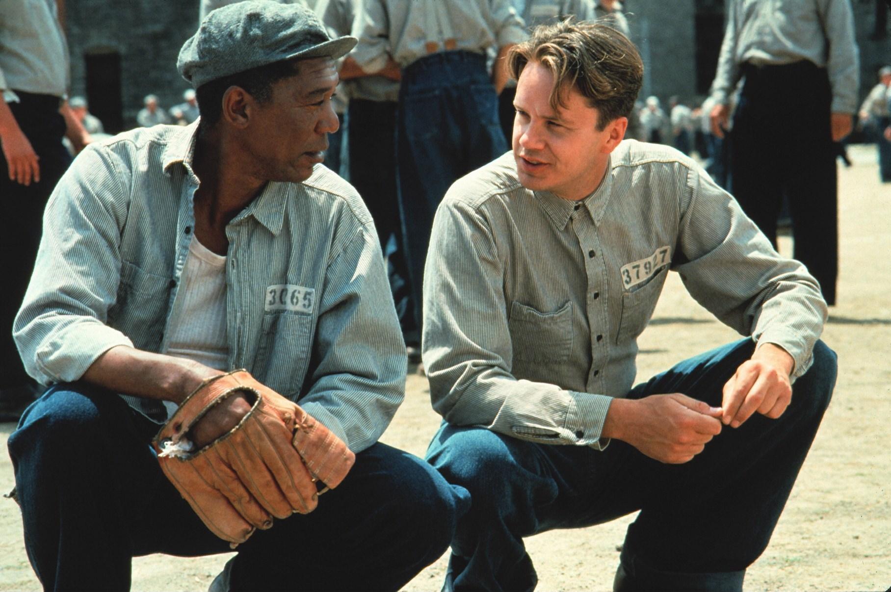 Die Verurteilten (The Shawshank Redemption, USA 1994, Regie: Frank Darabont) Morgan Freeman, Tim Robbins / Strafgefangene, H�