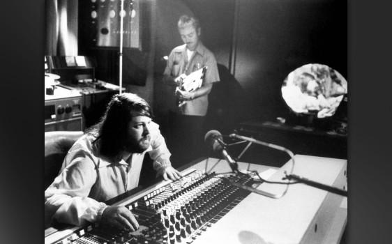 """Brian Wilson –hier bei den Aufnahmen zu """"Smile"""", nach """"Pet Sounds"""""""